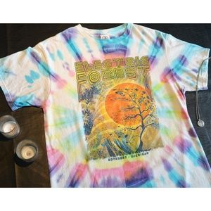 ELECTRIC FOREST Festival 2017 TIE DYE T!   Med EDM